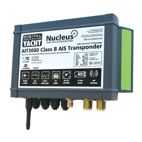 AIT3000 - Class B AIS transponder with splitter