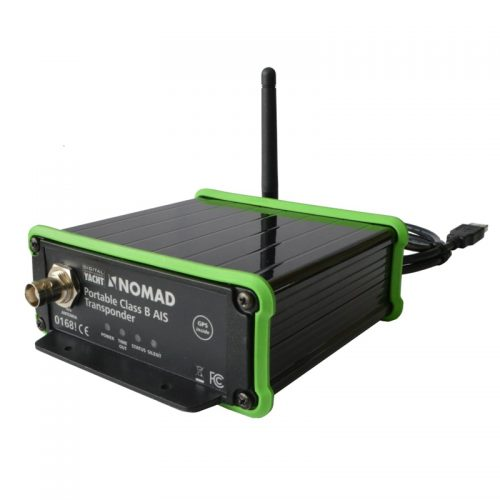 nomad is a portable AIS transponder