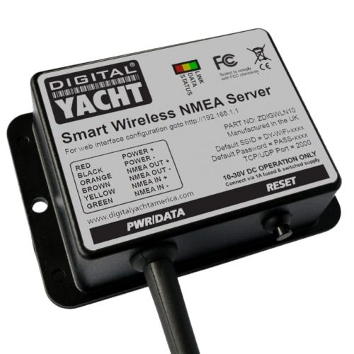 Smart WLN10 is a NMEA to WiFi gateway