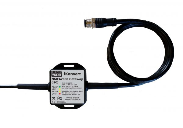 iKonvert is an NMEA0183 to NMEA2000 converter