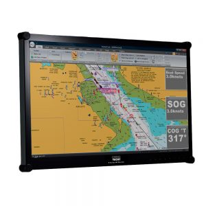 """The S124 23.5"""" HD LCD marine monitor is designed for below deck or internal dash mounting, featuring a bright and vibrant 1920 x 1080 pixel display."""
